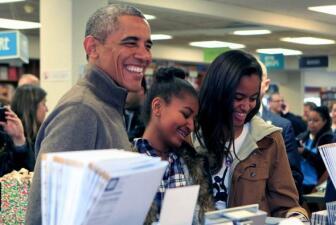 Los Obama compran libros