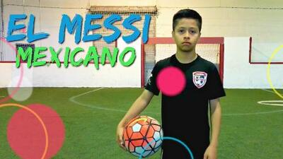 Alex Alcalá, el 'Messi mexicano', fue invitado a entrenar con Barcelona y Manchester City