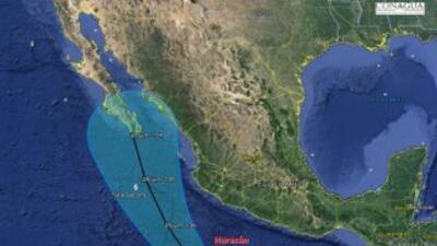 Blanca se convierte en huracán y se pronostica que llegue a Baja California