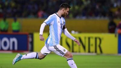 Lionel Messi encabeza la lista de Sampaoli para medirse a Rusia
