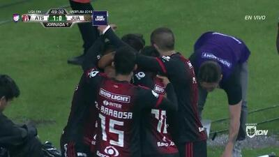 ¡GOOOL! Édson Rivera anota para Atlas