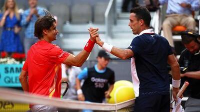 Ferrer debuta con victoria en Madrid, su último torneo