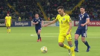 Kazajistán 3-0 Escocia - GOLES Y RESUMEN - ELIMINATORIAS  - Eurocopa 2020
