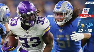 Los Vikings domaron a unos Lions que perdieron la brújula