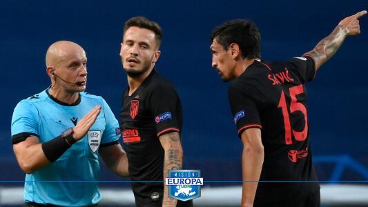 Saúl Ñíguez es contúndete y reconoce superioridad del Leipzig en Champions League