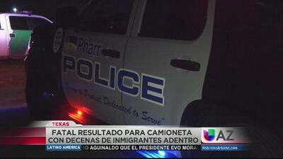 Fatal accidente con decenas de inmigrantes