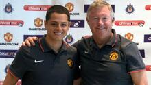 Ferguson recuerda el impacto del primer gol de Chicharito con el United