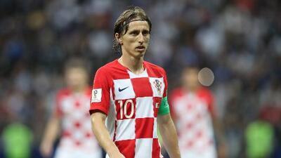 Los números que avalan a Modric como el mejor jugador del Mundial de Rusia