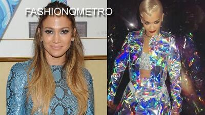 Fashionometro express: Se adelantó Halloween para Jennifer Lopez y Rita Ora
