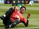 Manchester United deja ir puntos ante el Leeds del 'Loco' Bielsa