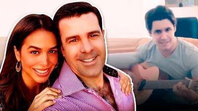 Hijo de tigre, pintito: el primogénito de Eduardo Capetillo y Biby Gaytán sorprende con su talento musical