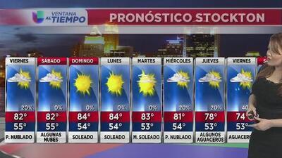 Se esperan tormentas eléctricas en zonas montañosas de California