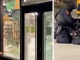 Arrestan a 12 personas en protesta contra la brutalidad policial en el centro de Raleigh