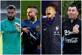 Las estrellas del mundo ya se van juntando con sus selecciones para la fecha FIFA