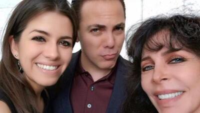La esposa de Cristian Castro por fin conoció a su famosa suegra