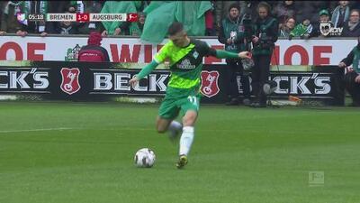 ¡Despierten al Augsburgo! Bremen anotó pronto