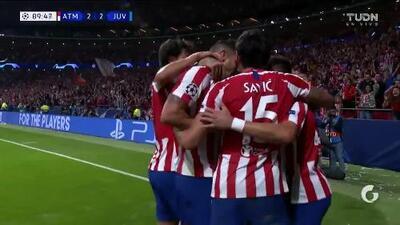 ¡GOOOL! Héctor Herrera anota para Atlético de Madrid
