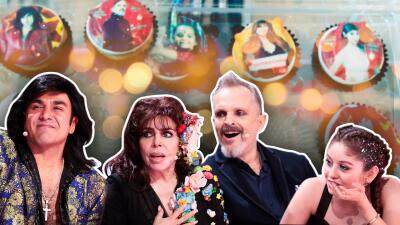 Galilea Montijo y los jueces de Pequeños Gigantes son convertidos en cupcakes