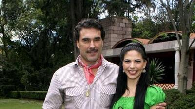 África Zavala y Eduardo Yáñez disfrutan de su amor