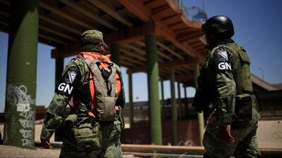 México destinará casi 15,000 uniformados para custodiar la frontera con Estados Unidos