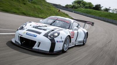 Detalles del Porsche 911 GT3 R 2015