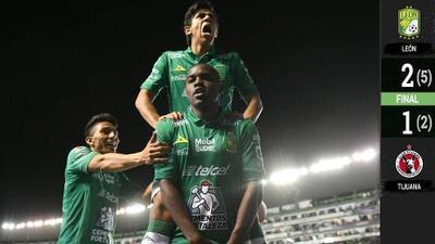 ¡Con la mira en el título! León derrotó a Xolos y demostró por qué es el mejor equipo del torneo