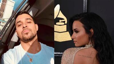Wilmer Valderrama visitó a Demi Lovato en el hospital por tres horas