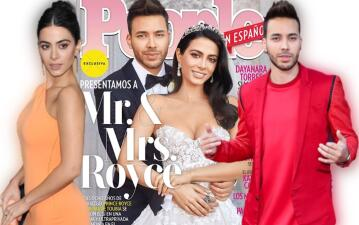 Prince Royce y Emeraude Toubia se casaron en México
