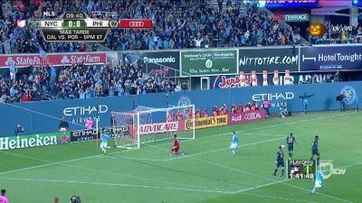 David Villa asiste de taquito e Ismael Tajouri-Shradi marca un golazo, NY City 1-0 Philadelphia