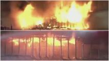 """""""Yo me asusté y salí corriendo"""": momentos de pánico tras incendio en un centro comercial al norte de Houston"""