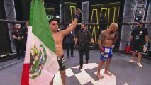 ¡Tremendo KO! David Martínez gana el torneo de Combate Global