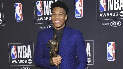 Giannis Antetokounmpo es el MVP de la temporada 2018-2019 de la NBA