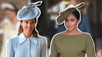 Pippa falló en todo y Meghan dio una lección de estilo en el bautizo del príncipe Louis