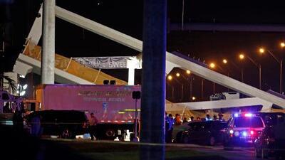 Estos son los cierres viales por el colapso del puente peatonal en Miami