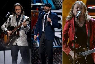 Rock, bachata y duetos en Premios Lo Nuestro