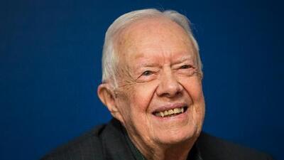 A sus 95 años, el expresidente Jimmy Carter sigue vivo, activo y reflexivo