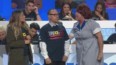 """¡Vendido!"": mira cómo Meche se descargó a Fernando Arau al perder frente a Mela (beso incluido)"