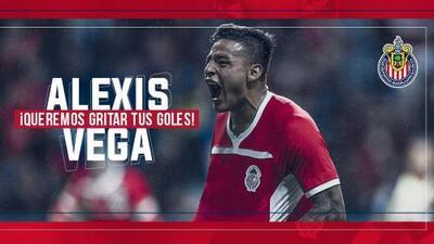 Oficial: Chivas se sigue armando hasta los dientes, Alexis Vega ya es jugador del Rebaño