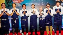 Sueño cumplido: Chef Yisus viajó a una playa mexicana para cocinar comida asiática para el embajador de Tailandia