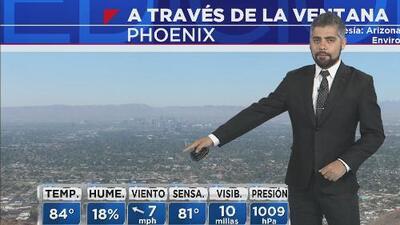 Arizona arranca la semana con temperaturas muy cálidas