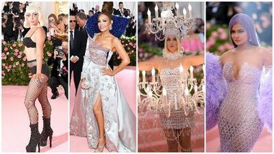 Video: la extravagante alfombra rosa de la Met Gala en menos de 4 minutos