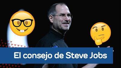 La lección de Steve Jobs en cuanto al trabajo y el dinero