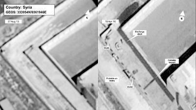 EEUU acusa a Siria de quemar cadáveres para ocultar ejecuciones masivas