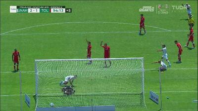 ¡De infarto! Con estos goles, Pumas venció 2-1 a Toluca
