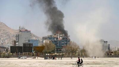 Lanzan varios misiles a la zona diplomática de Kabul y uno cae cerca de la sede presidencial