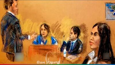 'La Chapo-Diputada', amante de 'El Chapo Guzmán', llegó a sacudir el juicio