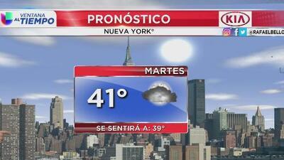 Incrementan las temperaturas y regresan los cielos despejados a Nueva York
