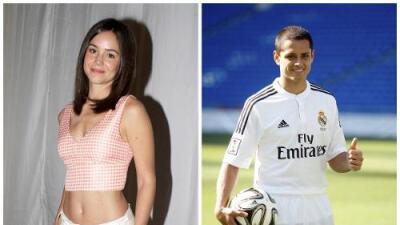 ¿Qué le parece a Diego Luna que su exesposa sea la nueva novia de Chicharito Hernández?