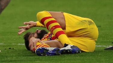 Barcelona no tendrá a Piqué este lunes ante el Valladolid