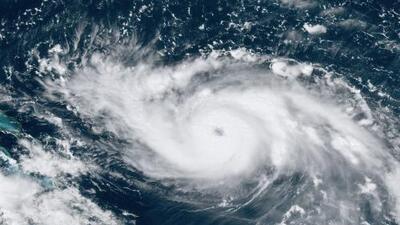 """""""La lentitud"""" es uno de los peligros del huracán Dorian"""